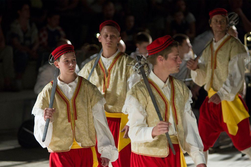 Utrinki z viteških plesov. Foto: Lujo Frlan