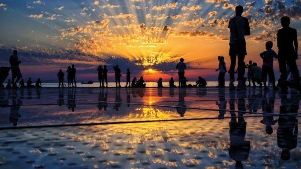 Zadar sunset HTZ